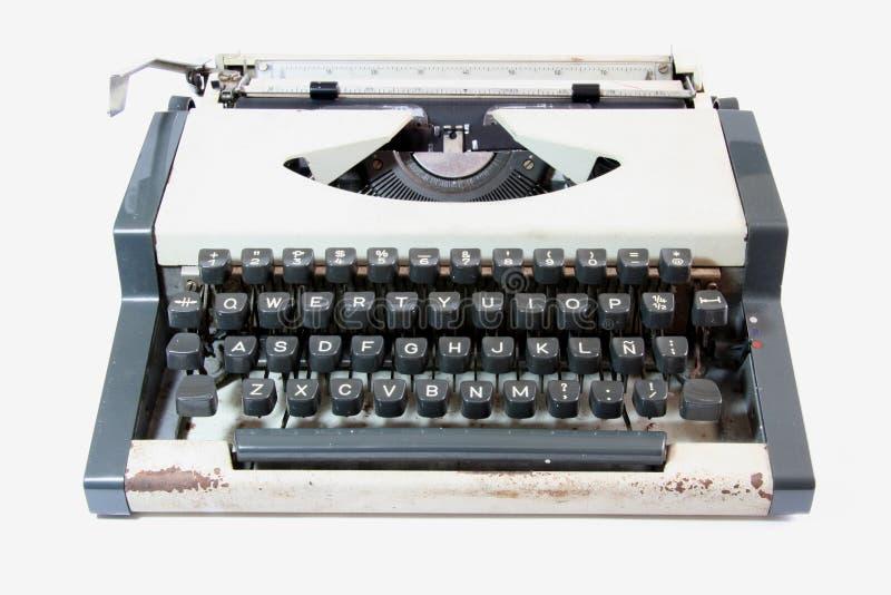 Máquina de escribir vieja imagenes de archivo