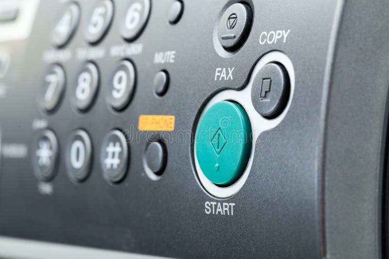 Máquina de fax foto de stock