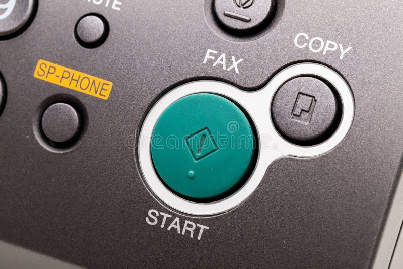 Máquina de fax imagens de stock royalty free