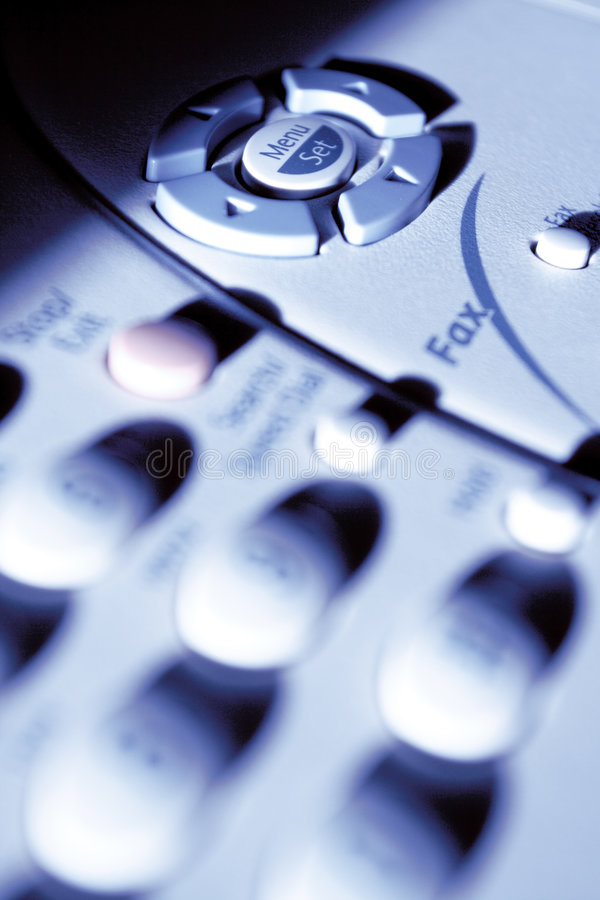 Máquina de fax Multifunction fotografia de stock