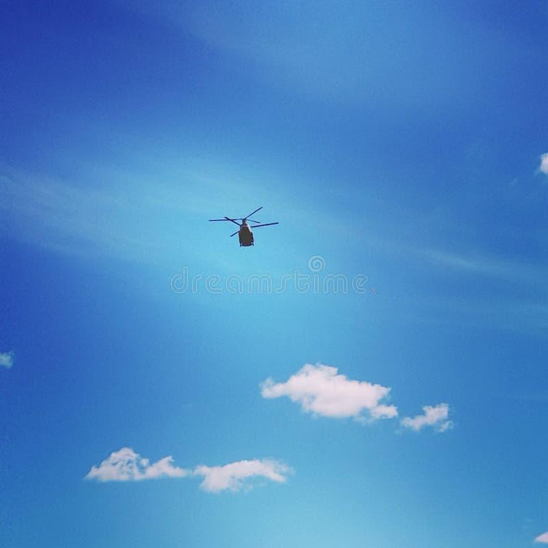 Máquina de guerra en el aire fotografía de archivo libre de regalías