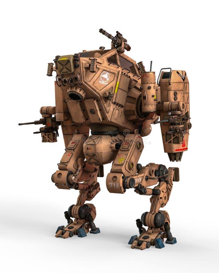 Máquina de guerra super ilustração stock