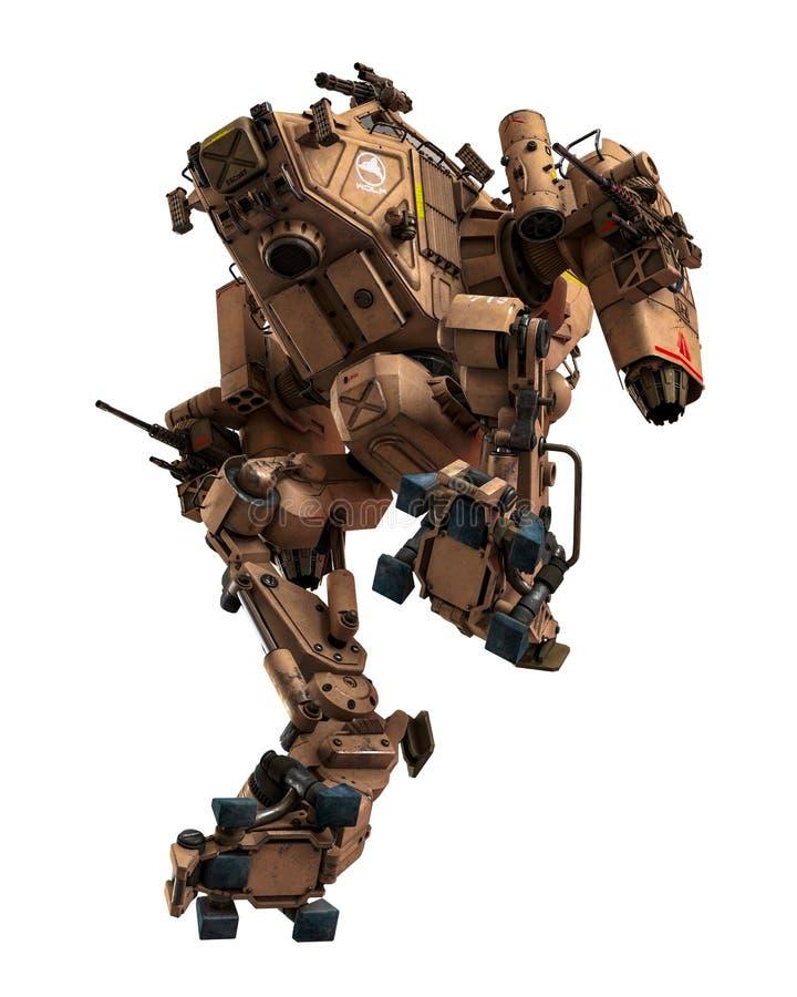 Máquina de guerra super ilustração do vetor