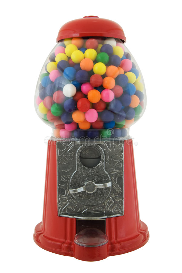 Máquina de Gumball imagens de stock royalty free
