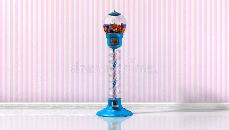 Máquina de Gumball em uma loja de doces imagens de stock royalty free