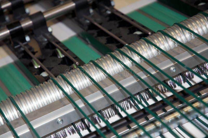 Máquina de impressão da imprensa de Digitas (detalhe) fotografia de stock royalty free