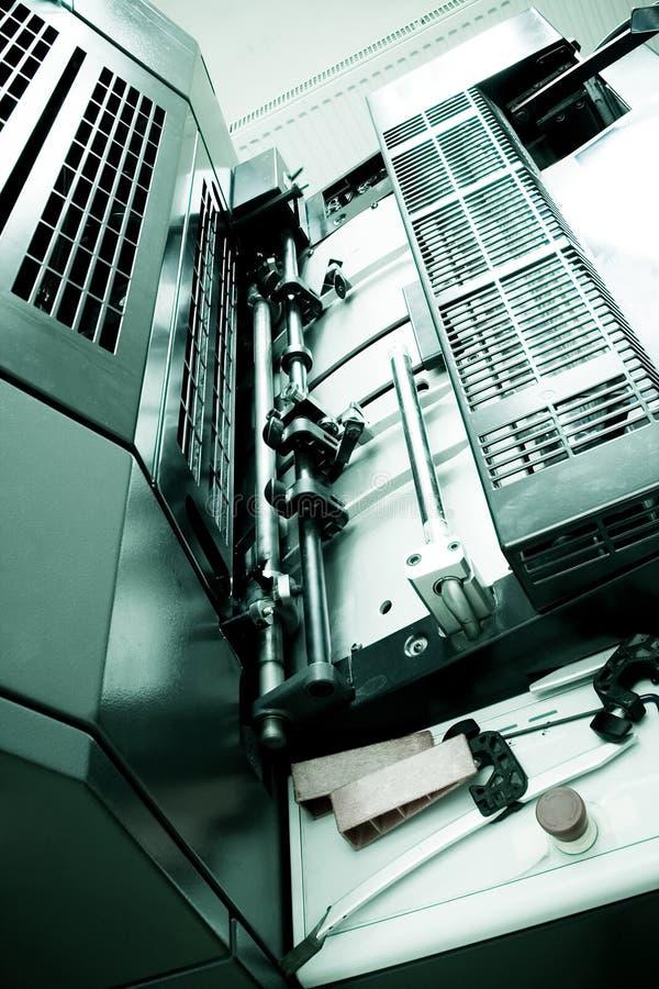 Download Máquina De Impressão Deslocada Foto de Stock - Imagem de anunciar, publicar: 545158