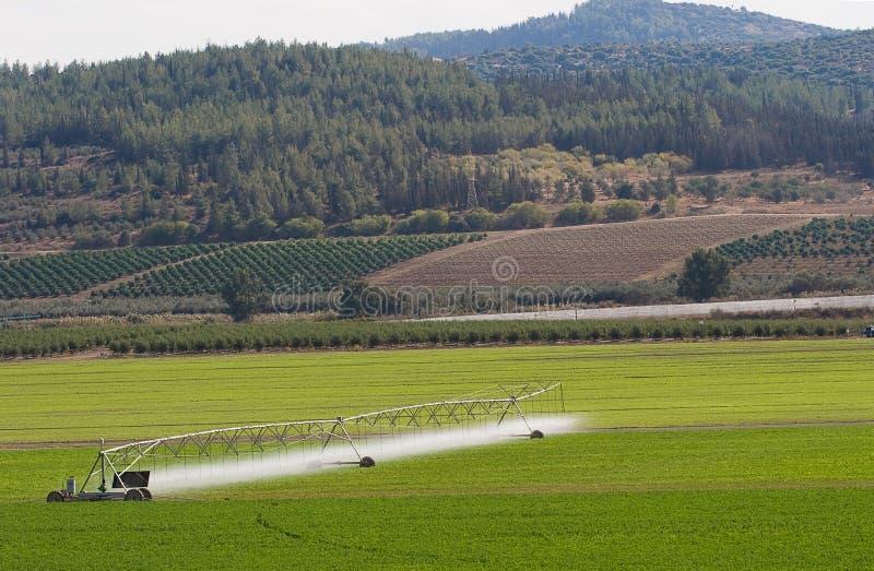Máquina de irrigação imagem de stock royalty free
