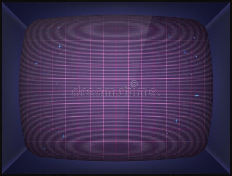 Máquina de juego retra de arcada fondo de pantalla libre illustration