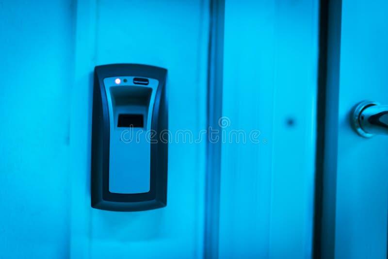 Máquina de la huella dactilar foto de archivo libre de regalías