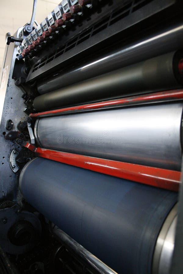 Máquina de la impresora foto de archivo libre de regalías