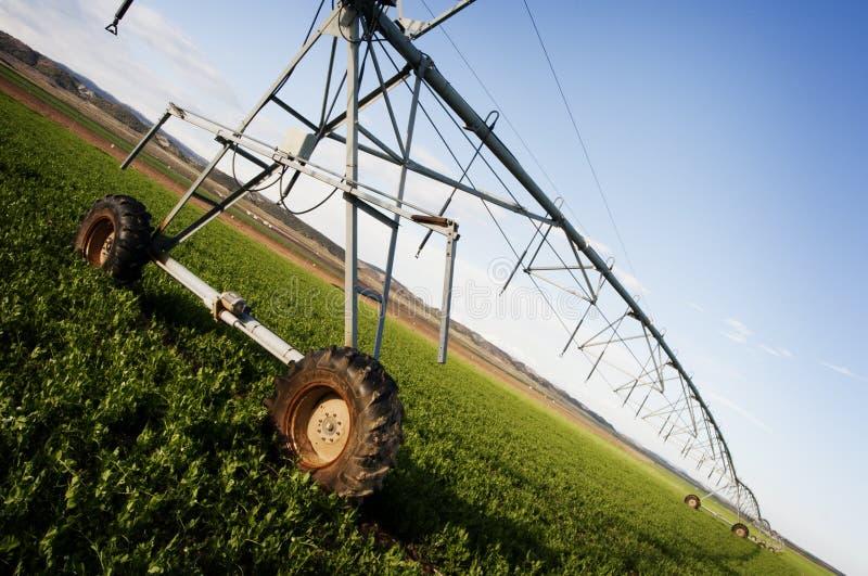 Máquina de la irrigación fotos de archivo