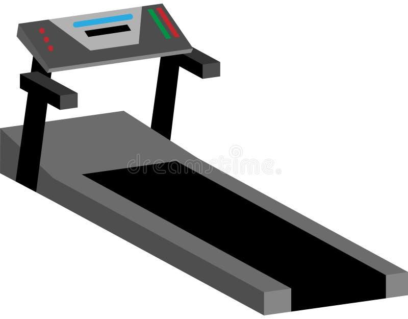 Máquina de la rueda de ardilla ilustración del vector