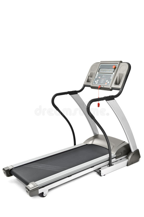 Máquina de la rueda de ardilla para los entrenamientos cardiios imágenes de archivo libres de regalías