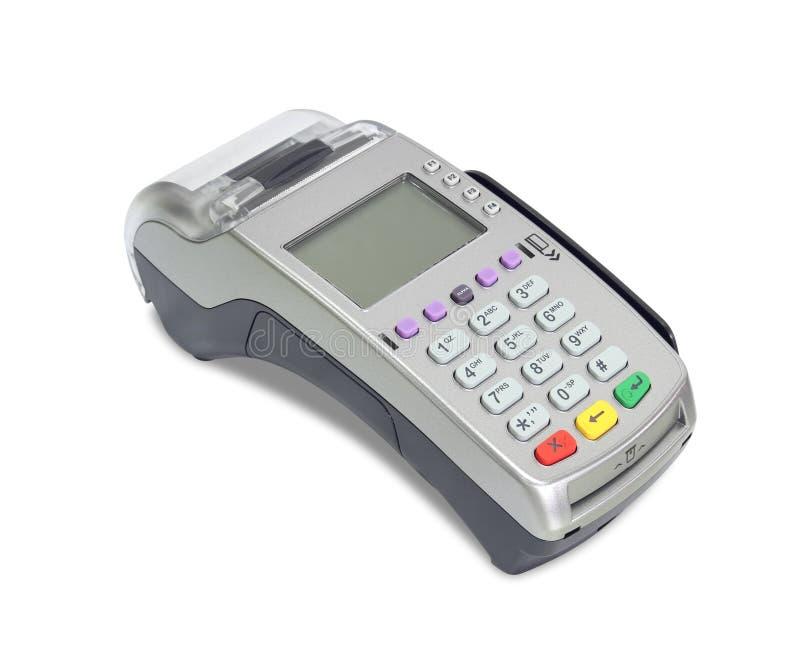 Máquina de la tarjeta de crédito imagen de archivo libre de regalías