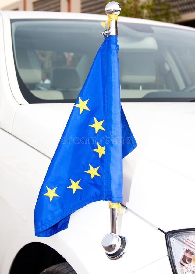 Máquina de la UE del cuerpo diplomático fotografía de archivo libre de regalías