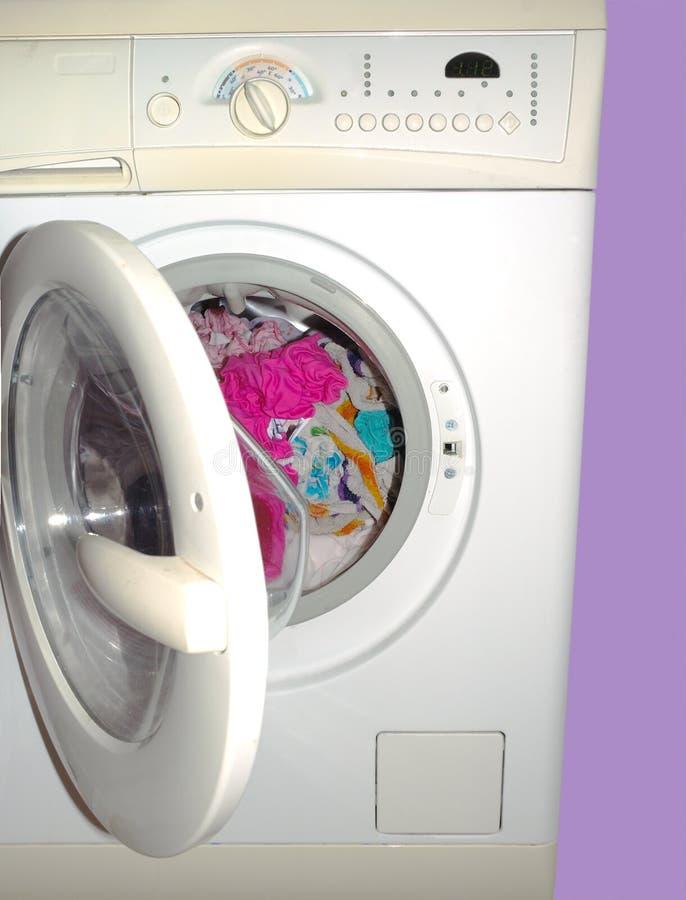 Máquina de lavar foto de stock