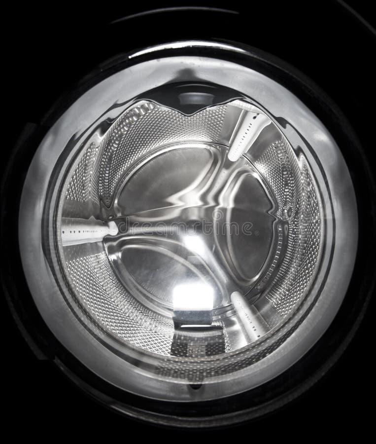 Máquina de lavar fim do portal da carga acima fotos de stock royalty free