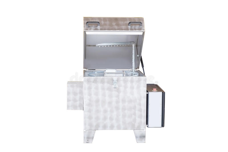 Máquina de lavar industrial imagem de stock
