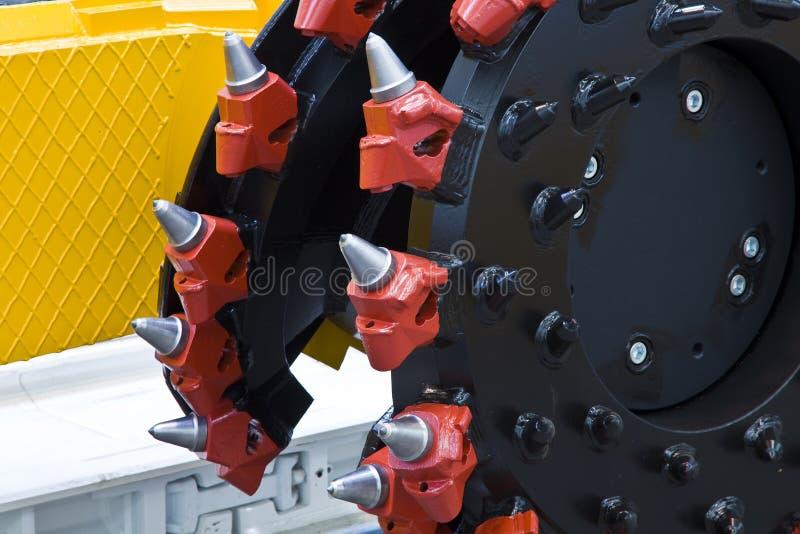 Máquina de mineração fotografia de stock royalty free