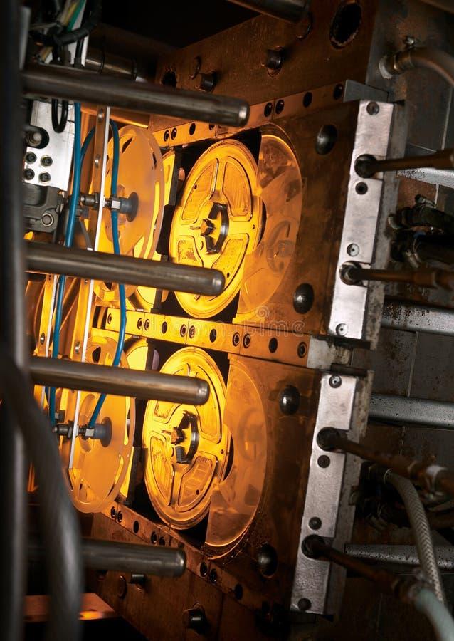 Máquina de moldear foto de archivo libre de regalías