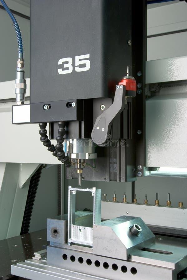 Máquina de moldear de la fábrica fotografía de archivo libre de regalías