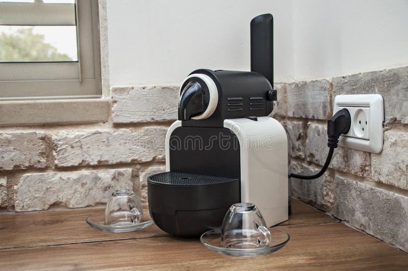 Máquina de Nespresso imágenes de archivo libres de regalías
