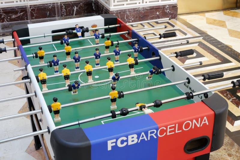 Máquina de partido de fútbol fotos de archivo libres de regalías