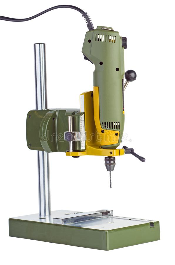 Máquina de perfuração portátil imagem de stock