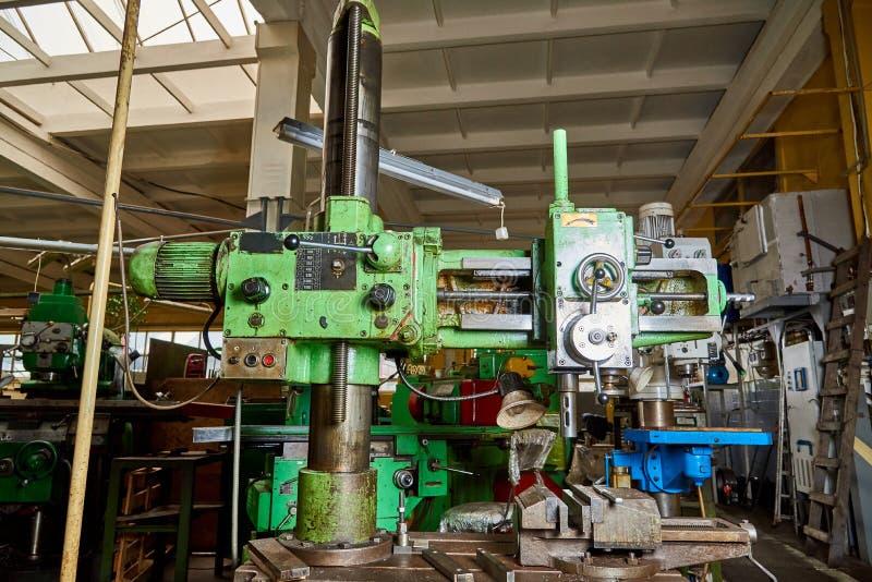 Máquina de perfuração velha imagens de stock