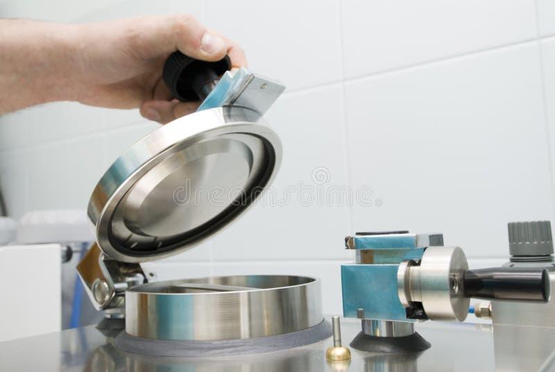 Máquina de polimerização fotos de stock