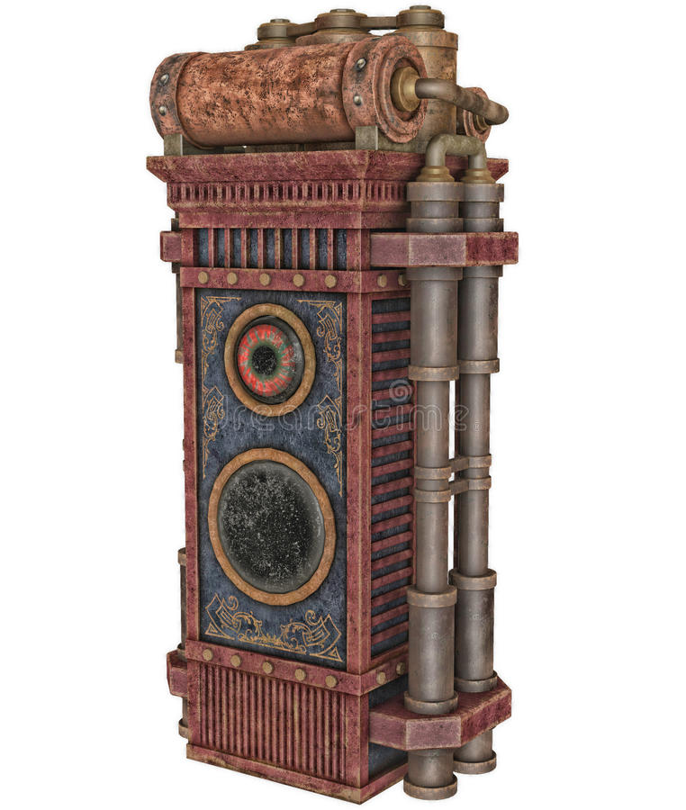 Máquina de Steampunk libre illustration