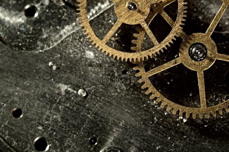 Máquina de tempo do vintage imagem de stock