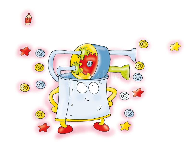 Máquina de tiempo libre illustration