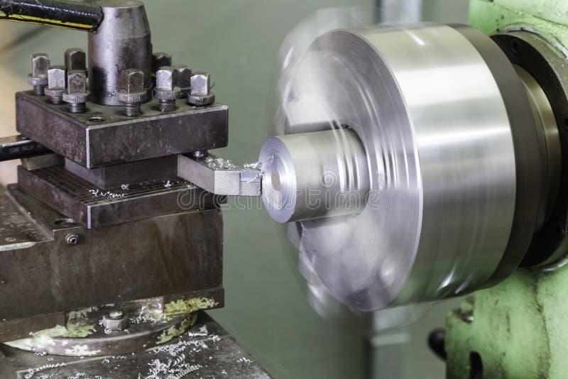 Máquina de trituração horizontal foto de stock