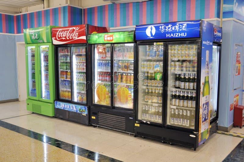 Máquina de Vending imagens de stock