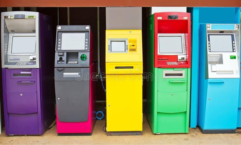 Máquina del cajero automático imágenes de archivo libres de regalías