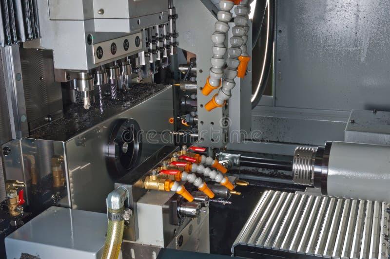 Máquina del CNC fotos de archivo