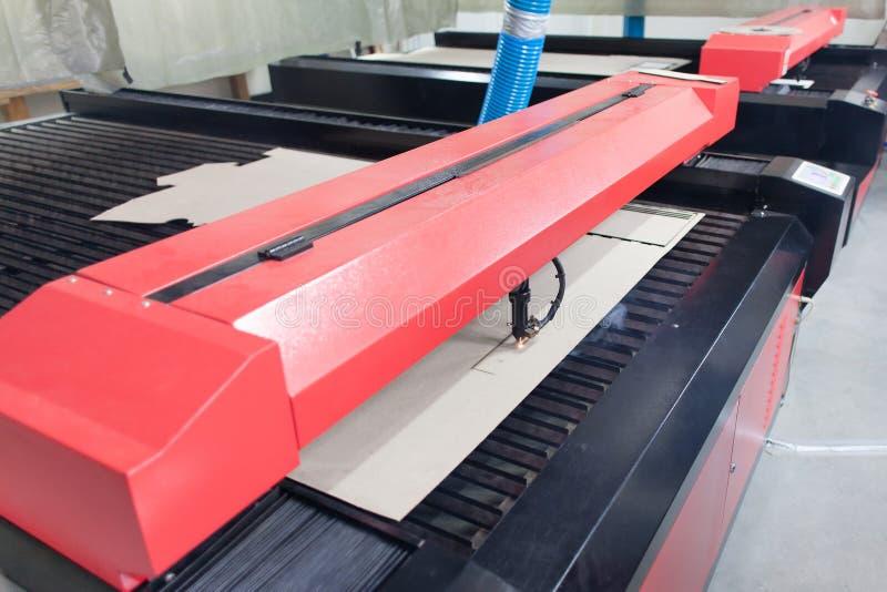 Máquina del laser imágenes de archivo libres de regalías