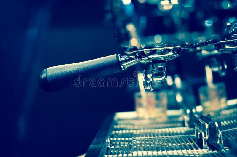 Máquina del lujo del café de las bebidas del café express foto de archivo libre de regalías