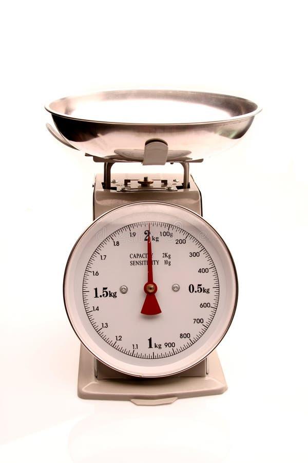 Máquina del peso foto de archivo libre de regalías