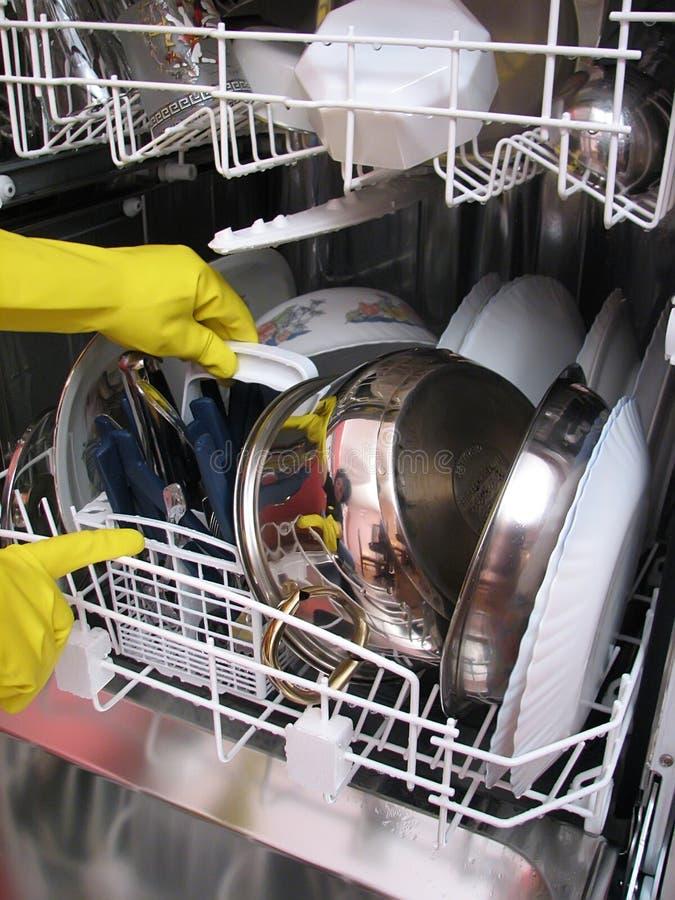 Máquina del plato imagen de archivo