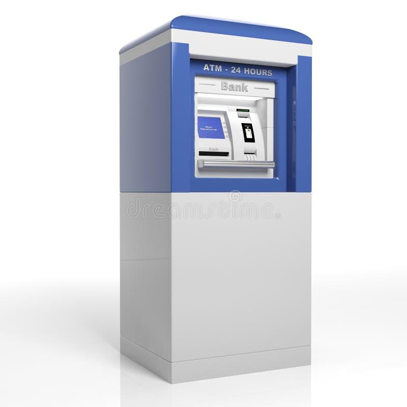 Máquina do ATM ilustração royalty free