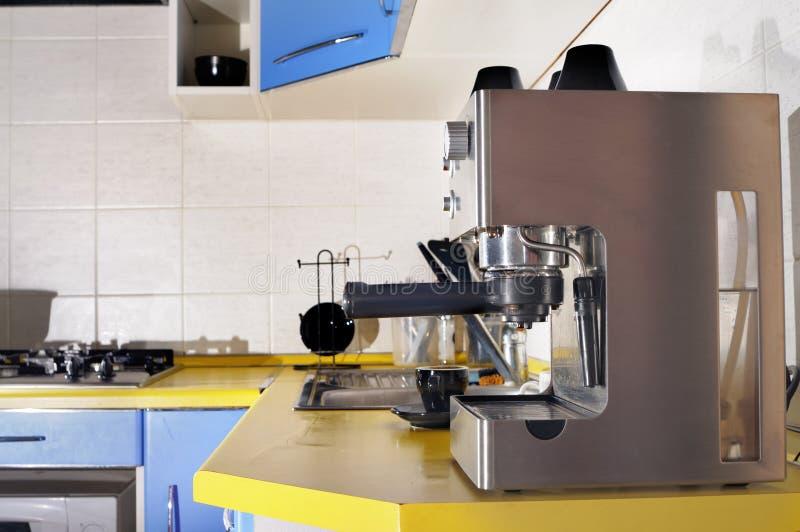 Máquina do café. foto de stock