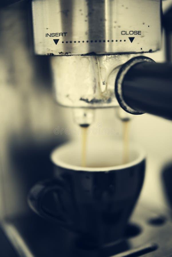 Máquina do café foto de stock