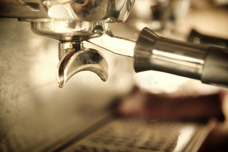Máquina do café do café fotografia de stock