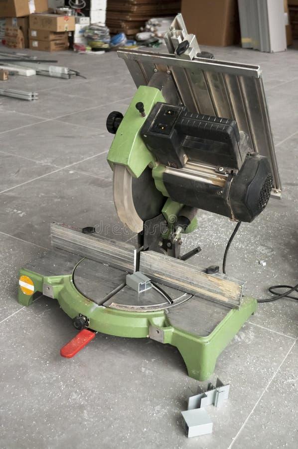 Máquina do cortador do quadro fotografia de stock