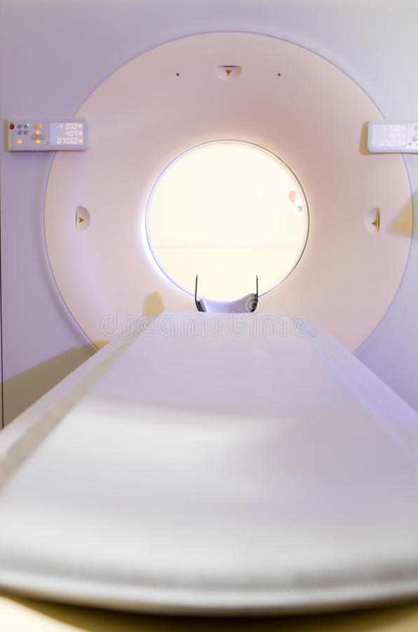 Máquina do diagnóstico do tomografia de computador foto de stock royalty free