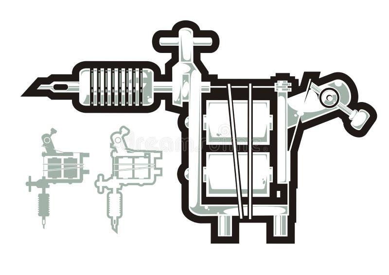 Máquina do tatuagem ilustração do vetor