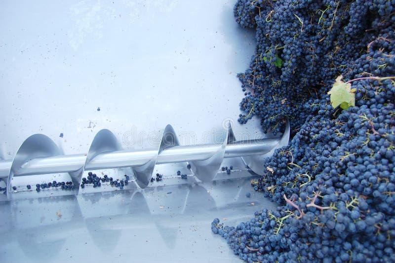 Máquina do Wine-making foto de stock royalty free
